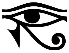 EYE OF RA HORUS Egyptian God Vinyl Decal Sticker Window Wall Bumper Pagan Symbol