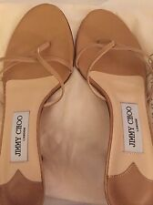 Used Jimmy Choo Nimbus Nude Colour Sandals Size 37.5
