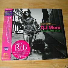 LUIRE presents DJ Moni Friends We Love JAPAN CD+1Bonus Sealed #18-2