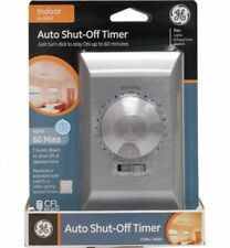 GE 60 Minute Auto Shut-off Timer with On/Off Switch