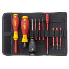 Wiha 10pc SlimVario SlimTorque Torque Driver Screwdriver Set 1000V VDE Insulated