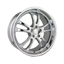 (2) NEW 20x9.5 ADR STERLING CHROME WHEELS 5x114.3 +35 OFFSET RIMS FREE SHIPPING