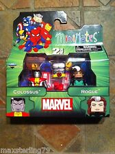 Marvel Minimates Outback COLOSSUS & ROGUE Wave 47 DC X-Men Avengers 80's