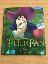 Disney Peter Pan Villans Blu Ray Limited Edition Artwork O-ring Sleeve NO DVD