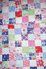 Pam Kitty Garden 30's Reproduction Patchwork  Fabric Navy   BFab Pam