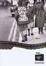 DR MARTENS ADVERT press clipping approx 30x20cm 1999
