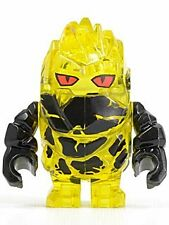 LEGO Power Miners -  Rock Monster - Combustix (Trans-Yellow) NEW
