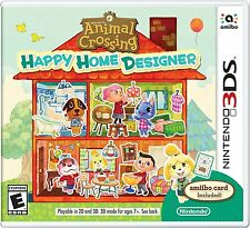 ANIMAL CROSSING HAPPY HOME DESIGNER * NINTENDO 3DS * BRAND NEW FACTORY SEALED!