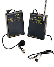Pro WLM XLR M wireless lavalier mic for Sony DSR PD150 PD170 HD audio camcorder