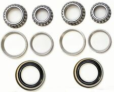 Front Wheel Bearing & Race & Seal Kit For 1976-1995 FORD F-150 (4WD)