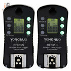 2x YONGNUO RF-605 RF605N Wireless Flash Trigger for Nikon D7100 D7000 D5100 D500