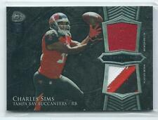 2014 Bowman Sterling Charles Sims DUAL PATCH / JERSEY RELIC RC (4 Color)