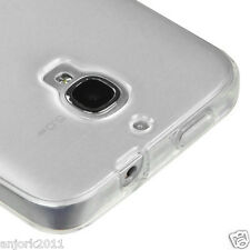 Alcatel One Touch Fierce Soft Candy Skin Gel Case TPU Cover Frosted Clear