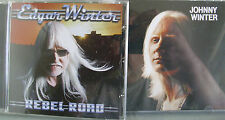 Johnny/ Edgar Winter- Same/ Rebel Road NEU