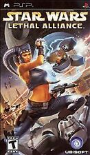 BRAND NEW SEALED PSP Death Star Game Star Wars: Lethal Alliance (Sony PSP, 2006)