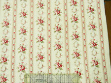 "Free Spirit Tanya Whelan Petal Sateen Antique Ticking Rose 54"" Fabric"