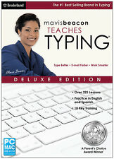 Mavis Beacon Teaches Typing Deluxe - NEW RETAIL BOX