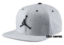Nike Air Jordan IV Jumpman Snapback Adjustable Hat Cement Grey Black 724893-012