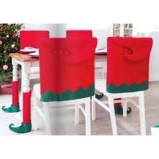 Avon 4 Each Of Elf Christmas Chair orTable Legs Covers & Chair Covers (8 Pieces)