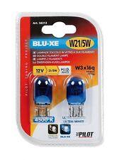 PILOT Glassockellampe W21/5W blau 12V 2er-Pack