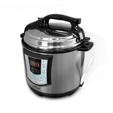 NEW NutriChef PKPRC22 Digital Electronic Pressure Cooker + Slow Cooker