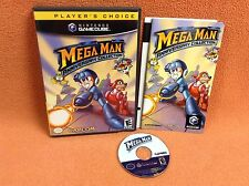 Megaman Anniversary Collection Mega Man Nintendo Gamecube FREE SHIP Complete!