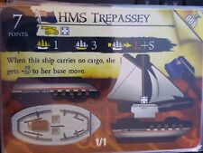 Wizkids Pirates of the Caribbean #008 HMS Trepassey Pocketmodel CSG