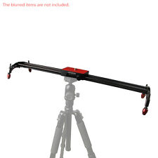 Andoer 60cm Video Track Slider Dolly Stabilizer System for DSLR Camera Camcorder