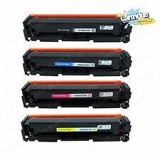 4PK 201X CF400X CF401X CF402X CF403X Color Toner For HP LaserJet M252dw M277