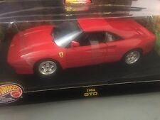 1:18 HOT WHEELS FERRARI 288 GTO IN RED..  **NEW & SEALED**
