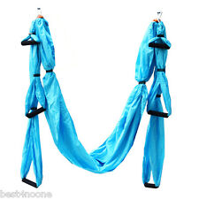 Parachute Fabric Swing Inversion Therapy Anti-gravity Aerial Yoga Hammock New