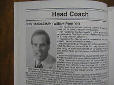 1989 Sam Houston St. University Football Media Guide (Andre Finley/Ron Randleman