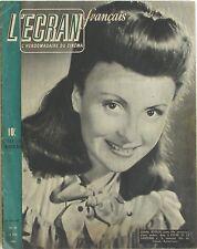 L'Ecran français n°33  - 1946 - Odette Joyeux - Janet Blair - Jean Tissier
