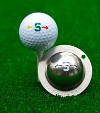 Tin Cup Golf Ball Marking System Alpha Players S