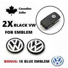 Vw Golf Bora Passat Jetta Beetle Remote Key Fob Logo Emblem Sticker Badge 14Mm