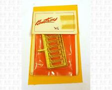 Kemtron HO Brass Parts: 45 Scale Inch Diesel Handrail Stanchions