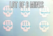 Car Decal Three Percent With Skull Decal America Militia 3% AR-15 Window Sticker