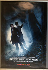 Cinema Poster: SHERLOCK HOLMES A GAME OF SHADOWS 2011 (Alley One Sheet) Jude Law