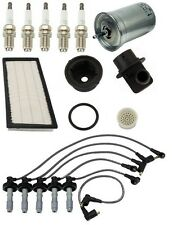 Volvo 850 93-97 L5 2.4L Basic Ignition Tune Up KIT Sparks Filters Wire Set OEM