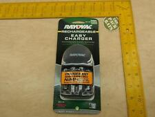 Rayovac Rechargeable Easy Charger Any NiMH AA / AAA Battery Charger, PS131E
