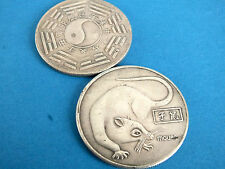 CHINESE 12 ZODIAC ANIMAL RAT PAK QUA NEW YEAR LUCKY BIRTHDAY COIN PARTY GIFT Q7