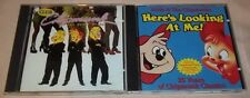 2 CDs  Alvin & the Chipmunks - Here's Looking at Me! and The Dance Mixes VGC