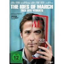 THE IDES OF MARCH-TAGE DES VERRATS - DVD NEU GEORGE CLOONEY,RYAN GOSLING