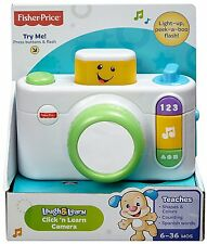 FISHER PRICE LAUGH & LEARN CLICK N LEARN CAMERA EDUCATIONAL TOY CDK39 *NEW*