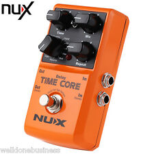 NUX Time Core Multi Guitar Effect Pedal True Bypass Design with Alloy Housing