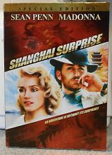 Shanghai Surprise (DVD 2007 Special Edt)RARE 1986 ROMANCE ACTION NEW W SLIPCOVER