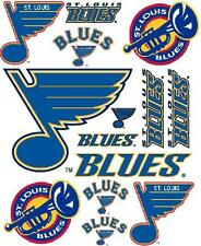 St Louis Blues Scrapbooking Craft Sticker Sheet Set #1