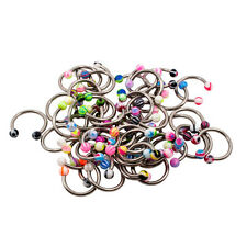 MIX Wholesale LOT 50 16g Circular Barbell Body Jewelry