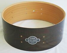 "New Sonor Ascent 5 1/2"" x 14"" Snare Drum, Dark Natural Finish, Heavy Beech Shell"