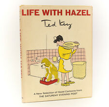 Ted Key  'Life with Hazel' E.P. Dutton & Co. 1965. 1st Ed, Signed w/ cartoon